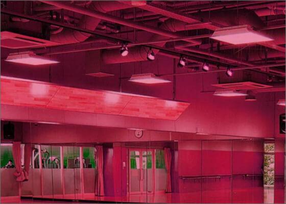 光トリートメントランプによる美容プログラムイメージ